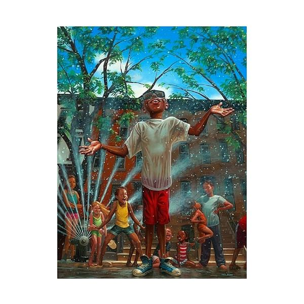Summertime in the City by Kadir Nelson (New Yorker Magazine)