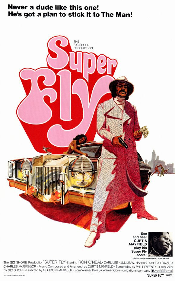 Superfly Movie Poster (1972)
