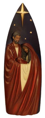 Tall African American Nativity Figurine