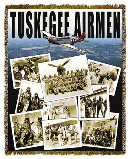 Tuskegee Airmen Tapestry Throw