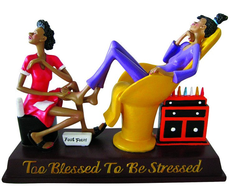 Too Blessed To Be Stressed V