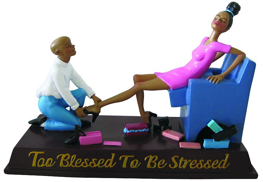 Too Blessed to be Stressed VI