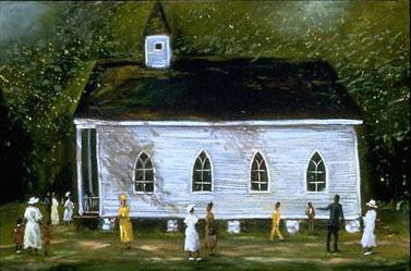 Grandma's Church by Ted Ellis
