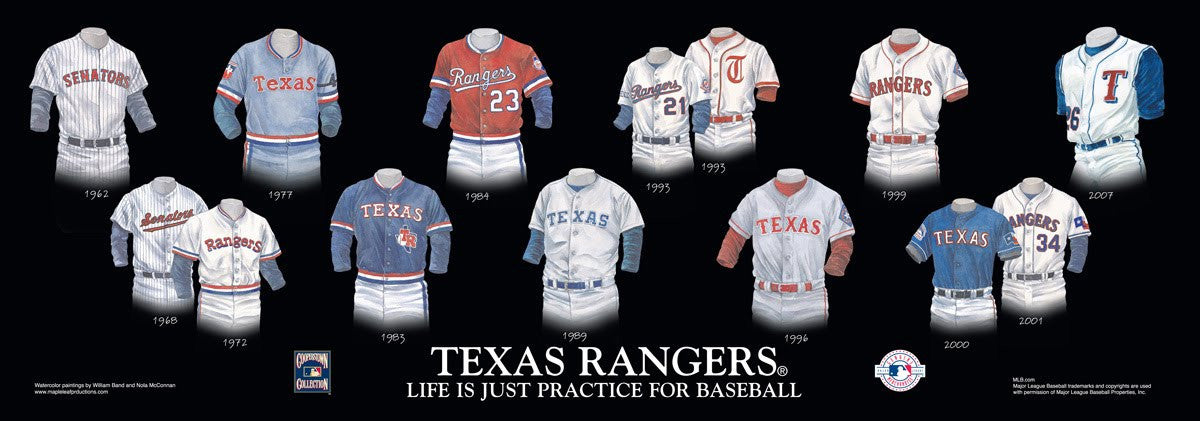 Texas Rangers: Life is Just Practice for Baseball by William Band and Nola McConnan