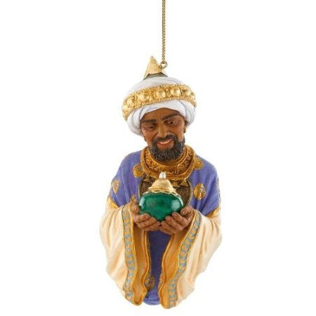 The Wiseman with Frankincense Ornament by Thomas Blackshear