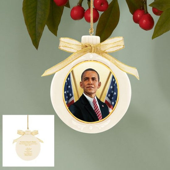 President Barack Obama Ornament by Thomas Blackshear