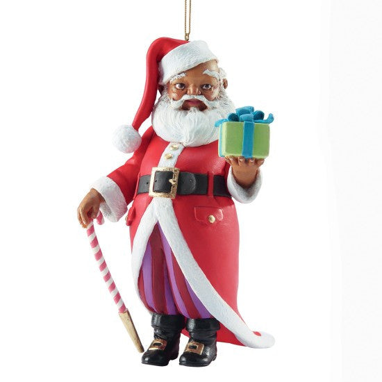 Mr. Claus Ornament by Thomas Blackshear