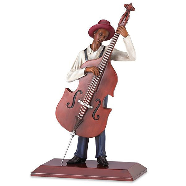 The Bassist Figurine by John Holyfield
