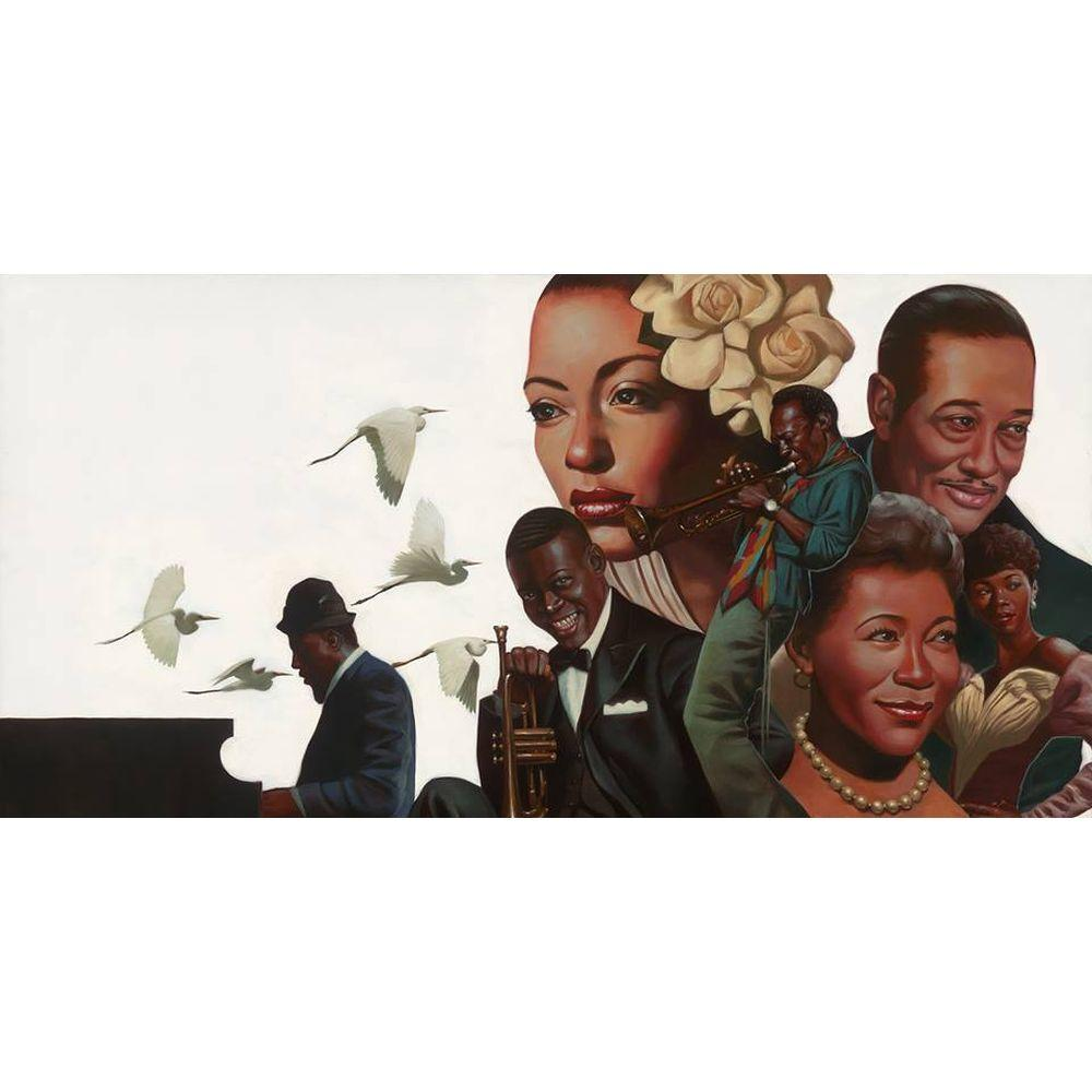 The Cool Ones: A Tribute to Jazz by Kadir Nelson
