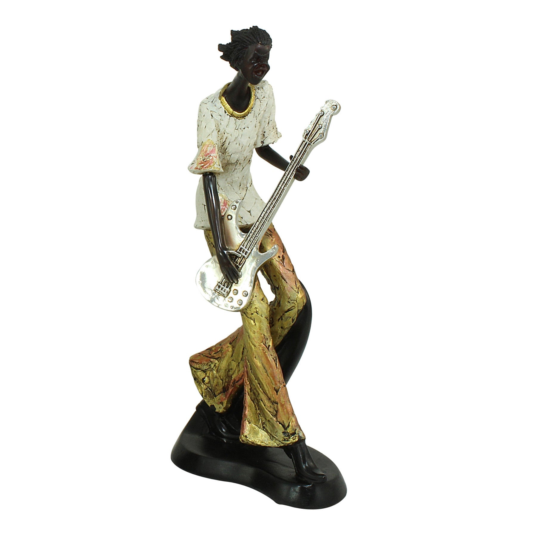 The Guitarist: Jazz Player Figurine Collective