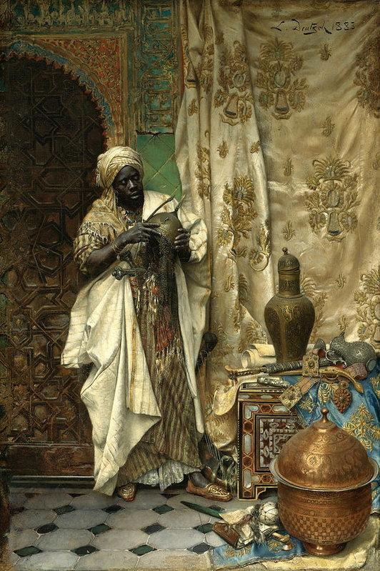 The Inspection (Black Moor) by Ludwig Deutsch