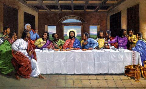 The Last Supper By Johnny Myers The Black Art Depot
