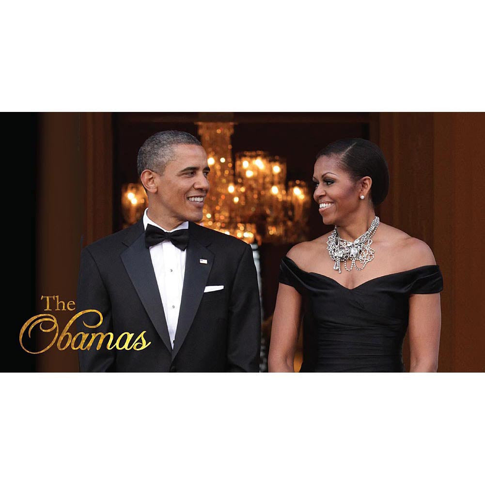 The Obamas: 2016 African American Checkbook Planner (Front)