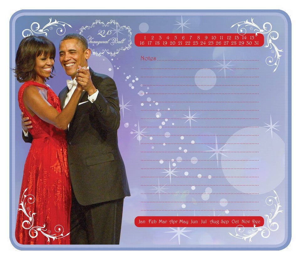 The Obamas Memo Mouse Pad
