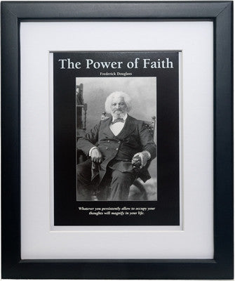The Power of Faith: Frederick Douglass by D'azi Productions (Framed)