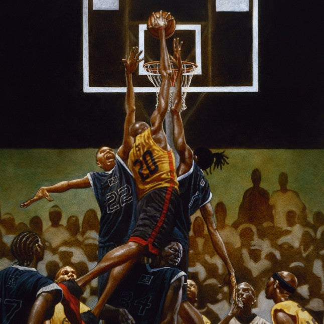 The Rucker by Kadir Nelson (Art Print)