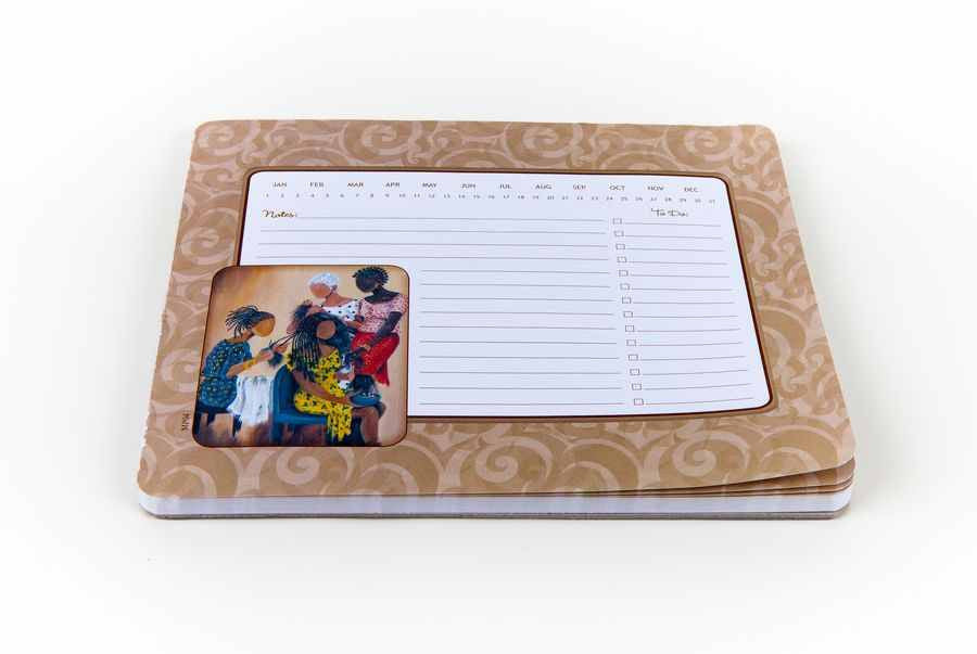 Three on One Memo Mouse Pad by Annie Lee