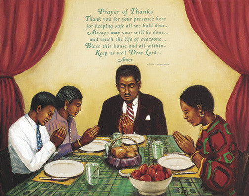 Prayer Of Thanks by Tobey