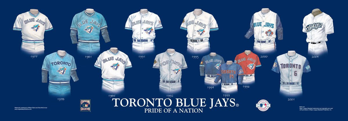Toronto Blue Jays: Pride of a Nation by Nola McConnan and William Band