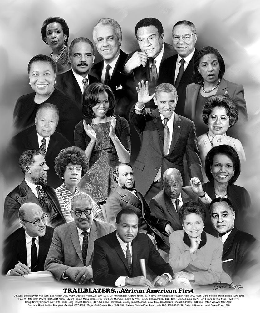 Trailblazers (A Tribute to African-American Politicians) by Wishum Gregory