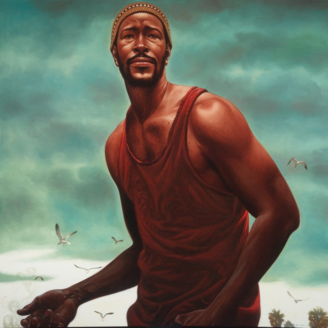 Trouble Man: Marvin Gaye by Kadir Nelson (Art Print)