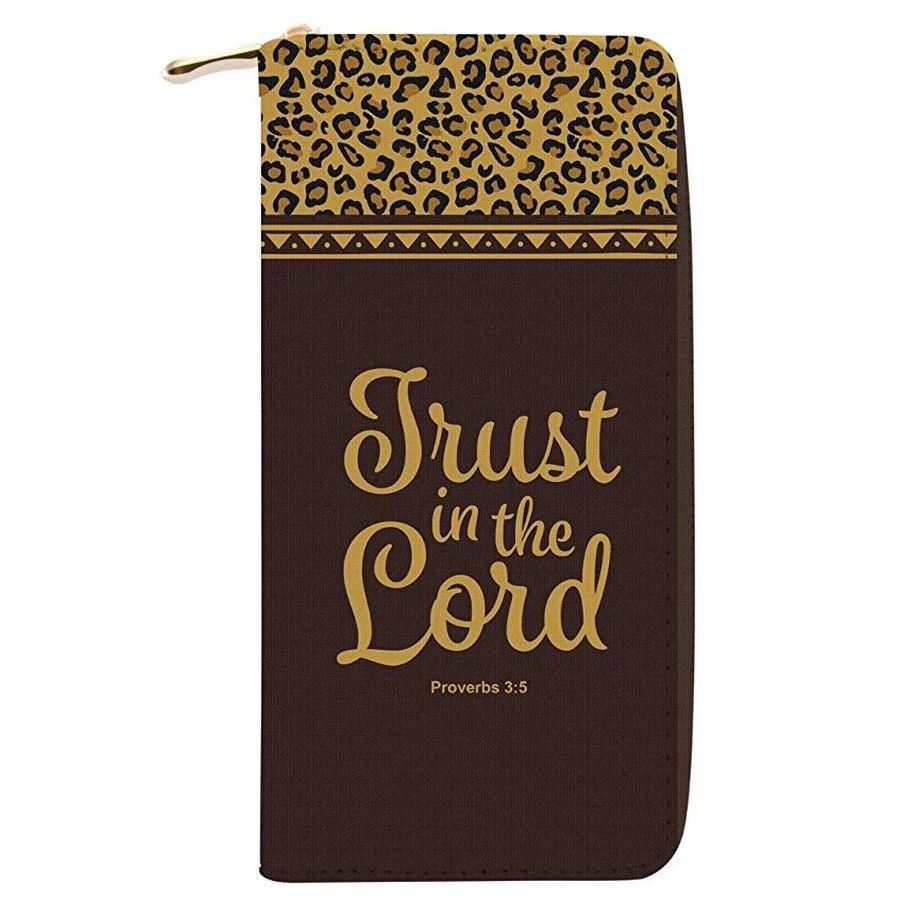 Trust in the Lord: African American Women's Wallet/Clutch
