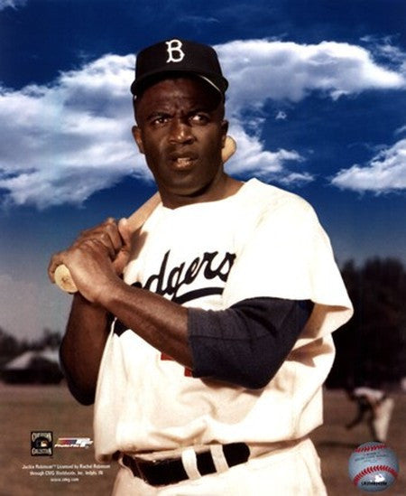 Jackie Robinson Color Portrait