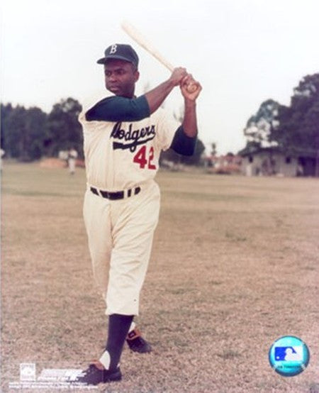 Jackie Robinson Color Portrait II