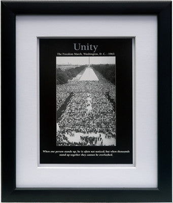 Unity: March on Washington by D'azi Productions (Framed)