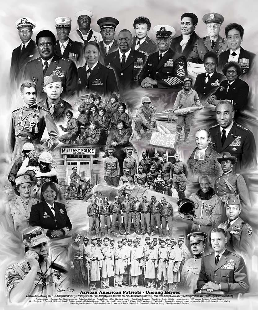 African American: African American Patriots: Unsung Heroes By Wishum Gregory