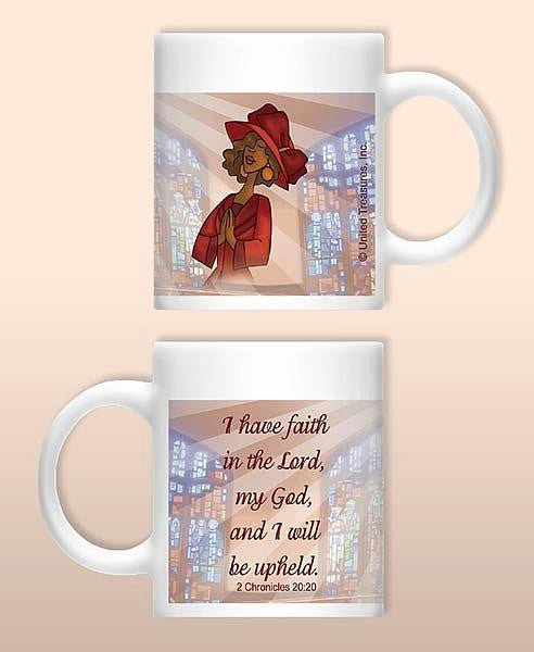 I Have Faith Mug by United Treasures