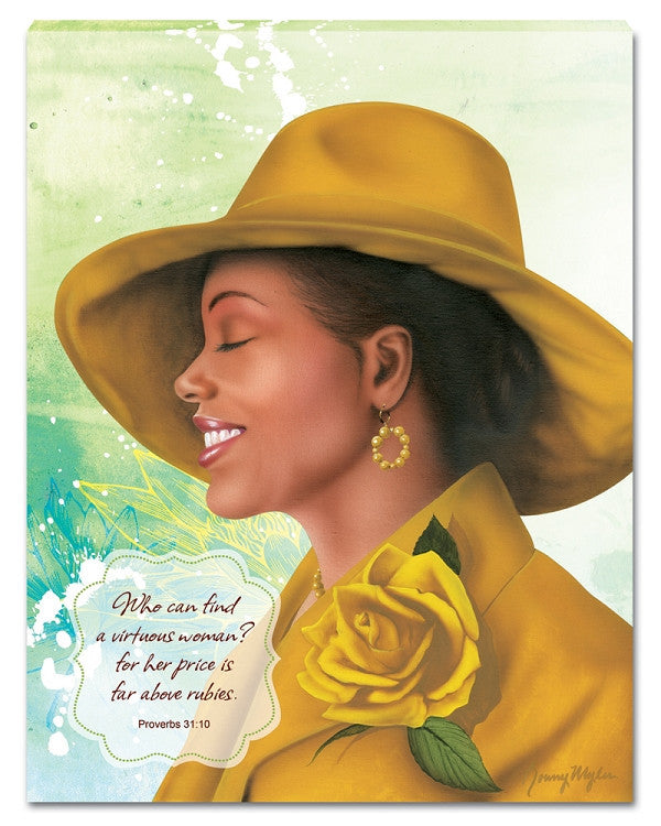 Virtuous Woman (Yellow) by Ronny Myles