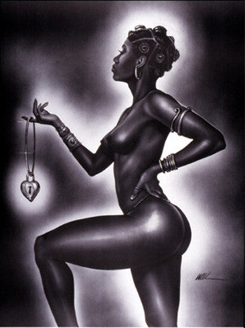"Lock and Key (Female) by Kevin ""WAK"" Williams"