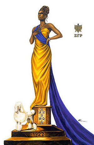 "Sigma Gamma Rho (Elegance) by Kevin ""WAK"" Williams"