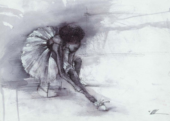 "The Ballerina by Kevin ""WAK"" Williams"