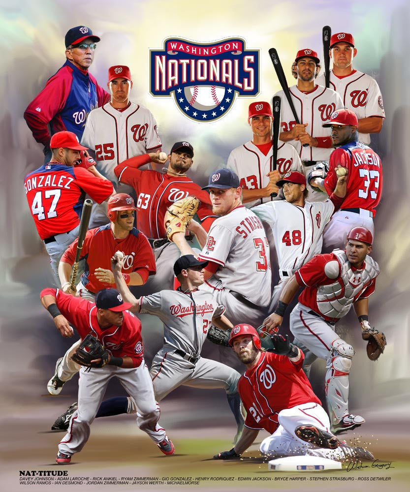 Washington Nationals by Wishum Gregory