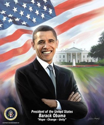 President Barack Obama by Wishum Gregory