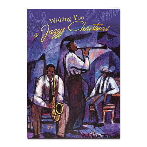 Wishing You a Jazzy Christmas: African American Christmas Card Box Set