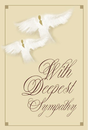 With deepest sympathy african american sympathy card the black with deepest sympathy m4hsunfo