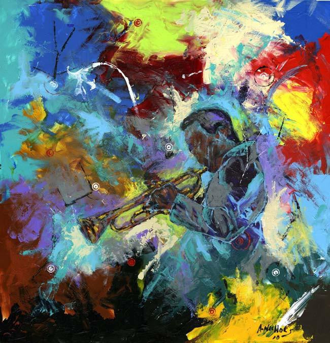 The Colors of Jazz by Andrew Nichols