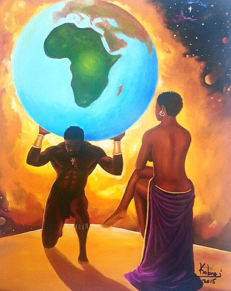 You Deserve the World by Kolongi Brathwaite