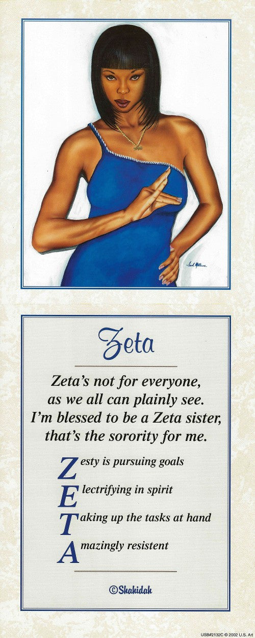 Zeta by Fred Mathews and Shahidah