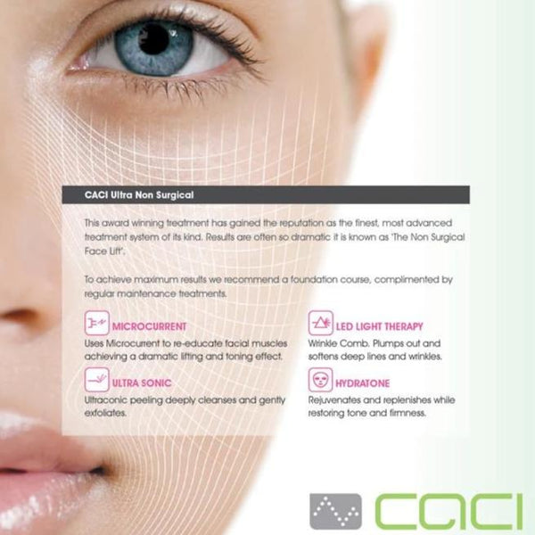 CACI Ultra Facials 20% Discount