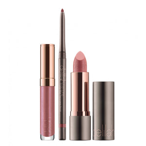 Lip Collection TRIO - Lip Line, Lipstick , Lipgloss,