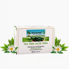 TEA TREE-ALOE VERA PREMIUM HANDMADE BATHING BAR
