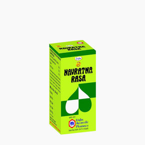 Navratna Rasa (Gold Coated) - 30 Tablets