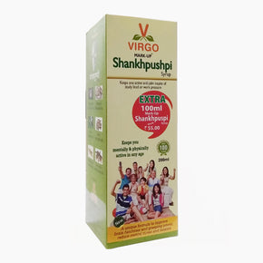 MARK-UP SHANKHPUSHPI SYRUP (200ML)