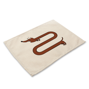 Long Dog Placemat