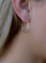 Threader Hoop Earrings