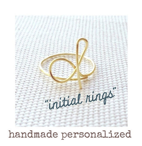 Wire Initial Ring